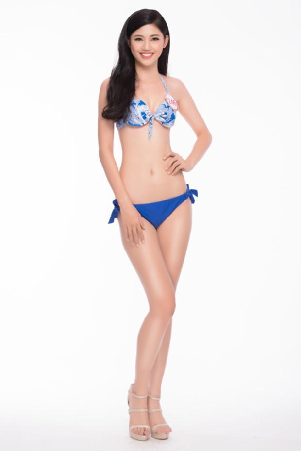 Thanh Tú đoạt ngôi vị á hậu 1 Hoa hậu Việt Nam 2016. Cô gây ấn tượng với chiều cao khủng 1m80 cùng thành tích học tập ấn tượng.