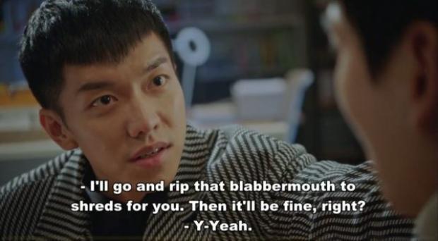 Son Oh Gong an ủi rất ngầu người cha thương con gái tội nghiệp này