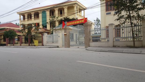 Tòa án nhân dân huyện Nam Đàn, nơi diễn ra phiên xét xử