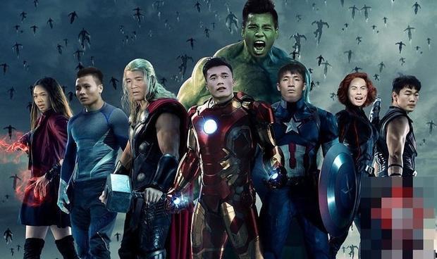 Biệt đội siêu anh hùng U23 Việt Nam.