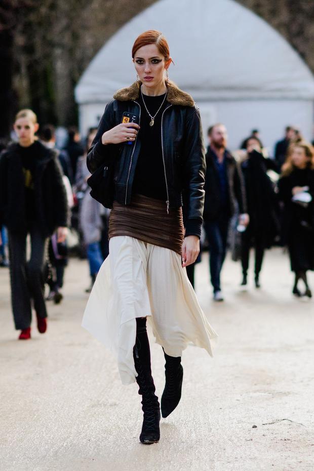 Street style là không có khuôn mẫu. Người mẫu có thể phối đồ theo sở thích nhưng khi nhìn tổng thể vẫn nổi bật lên được cá tính.