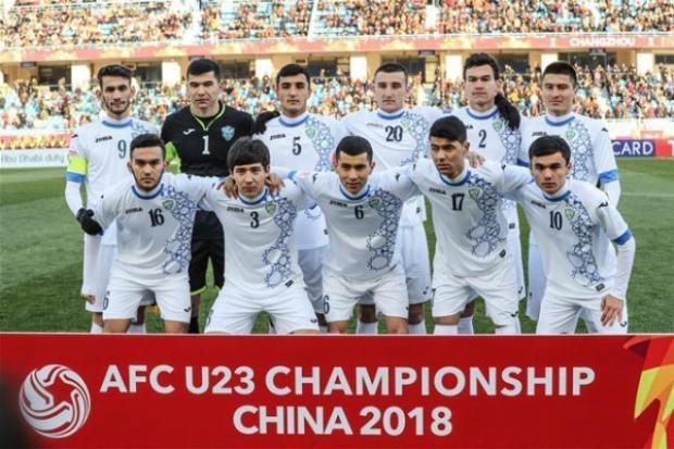 Đội tuyểnU23 Uzbekistan.