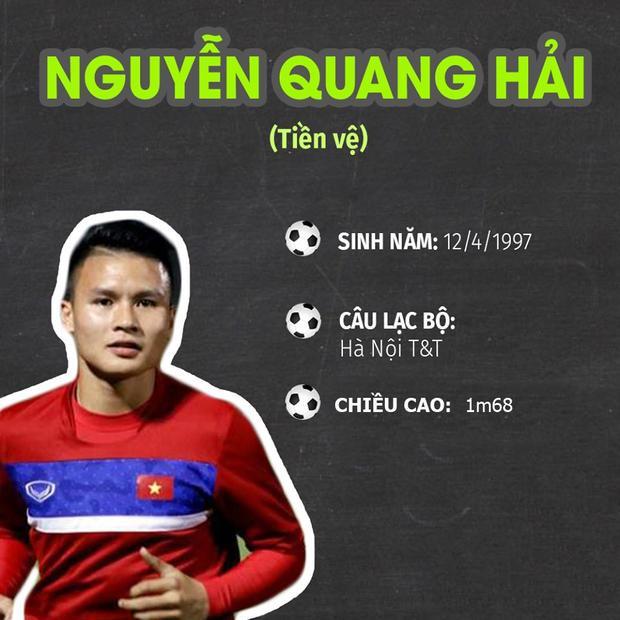 Nét quý tướng của cầu thủ quốc dân Nguyễn Quang Hải  người ghi 2 bàn thắng trong trận bán kết U23 Việt Nam