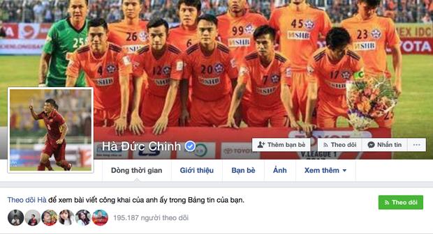 Facebook của Đức Chinh.