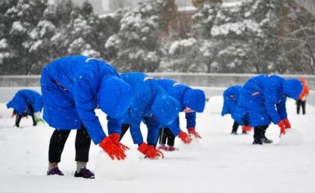 Chung kết U23 Việt Nam  Uzbekistan: Thời tiết ở Thường Châu hửng nắng, sân vận động được thu dọn tuyết