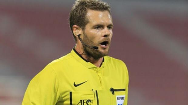 Trong tài Australia đã từng gây phẫn nộ với người hâm mộ Việt Nam khi cho U23 Iarq hưởng phạt đền ở trận tứ kết.