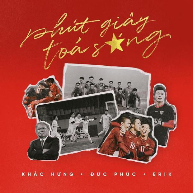 Ca khúcdành tặng U23 Việt Nam được nhạc sĩ Khắc Hưng ngẫu hứng viết nên trong vòng 2 tiếng ngồi máy bay từ Hà Nội vào TP HCM.