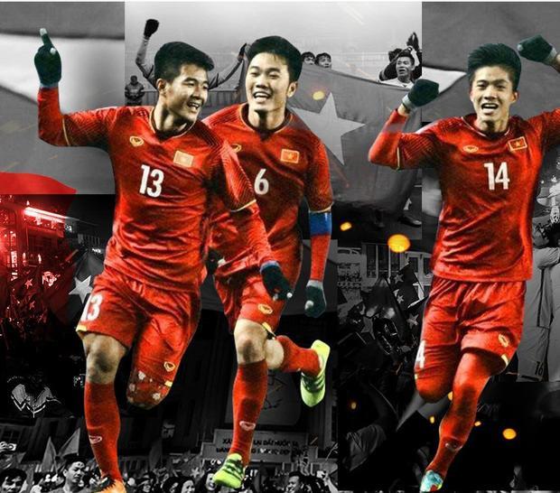 Hà Đức Chinh (số 13) - niềm hy vọng của U23 Việt Nam.
