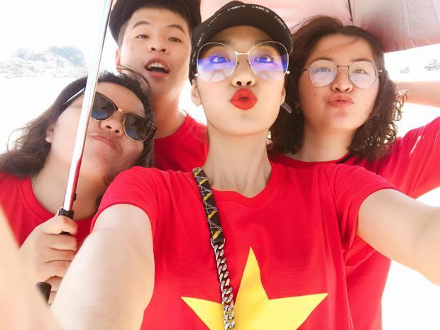 Lan Khuê, Minh Tú, Diệu Nhi cùng dàn sao Việt sẵn sàng cổ vũ U23 Việt Nam trước giờ G chung kết