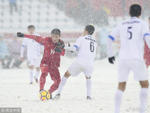 U23 Việt Nam đừng buồn, đến cả sao Hàn cũng dành tình cảm cho các em