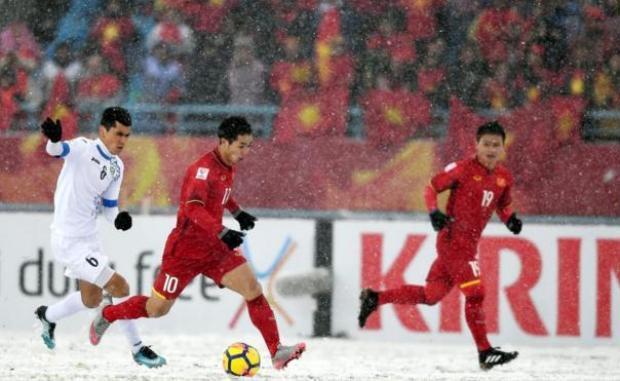 U23 Việt Nam có một trận đấu hết mình, khiến không chỉ người hâm mộ nước nhà, mà gần như cả châu Á phải thán phục, ngợi khen.