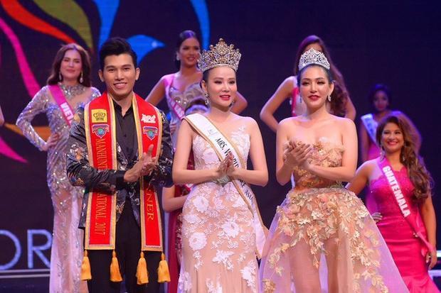 Hoa hậu Quý bà Hòa bình châu Á.