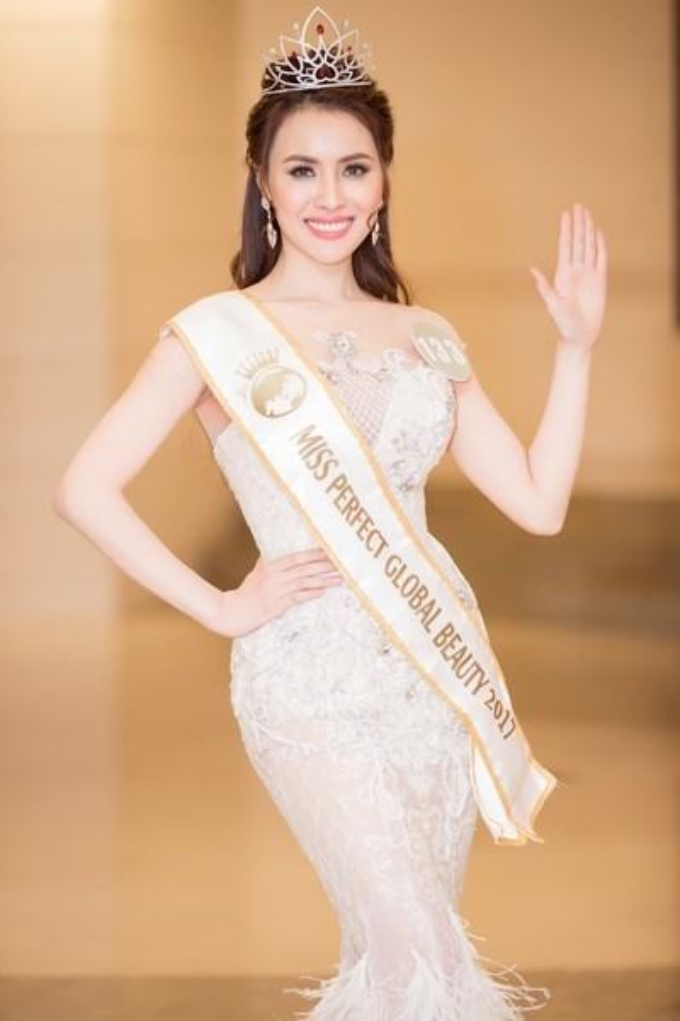 Hoa hậu Sắc đẹp hoàn mỹ Toàn cầu.