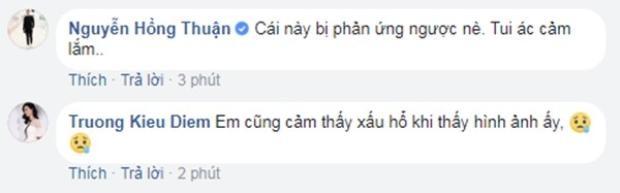 …và giọng ca Sing My Song Trương Kiều Diễm cảm thấy khó chịu với hình ảnh của chân dài Next Top.