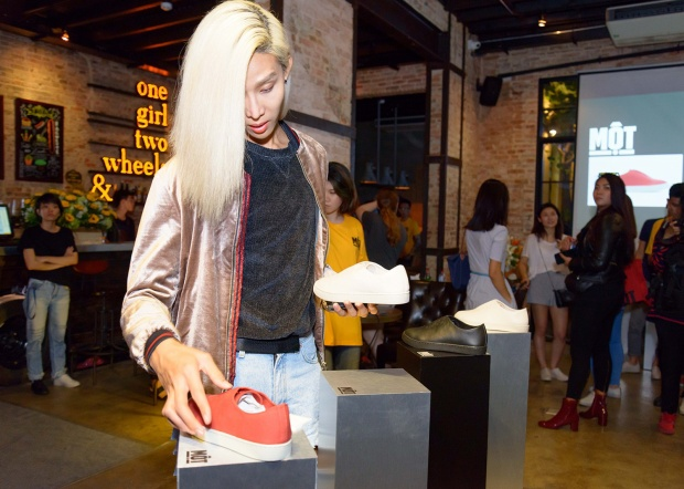 Người mẫu Mid Nguyễn cũng là một trong những khách mời của sự kiện.