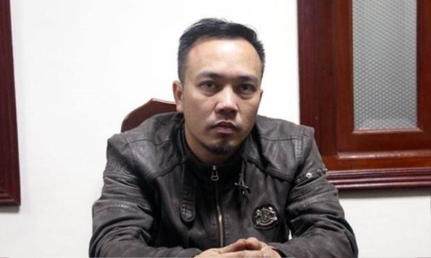 Nghi phạm Nguyễn Đức Minh tại cơ quan điều tra.