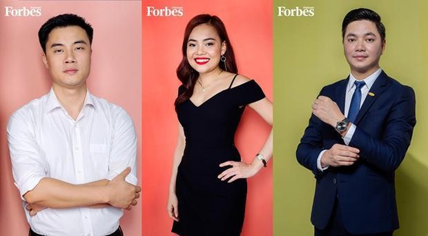 Một số cá nhân xuất sắc trong danh sách '30 Under 30′.