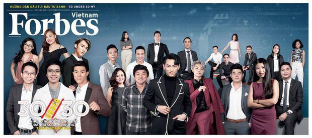 Sơn Tùng M-TP, Isaac, Vũ Cát Tường xuất sắc lọt danh sách 30 under 30 2018 của Forbes Việt Nam