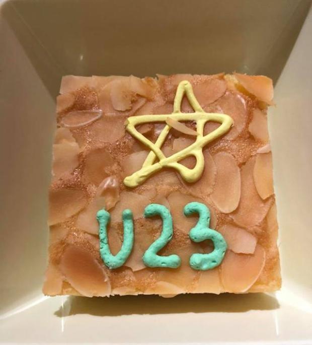 Suất ăn trên máy bay gửi tình yêu tới cầu thủ U23 được dân mạng ủng hộ rần rần