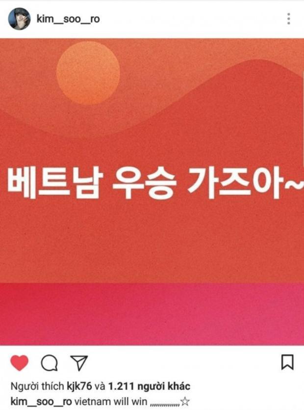 Seung Ri (BigBang) bất ngờ đăng ảnh, chúc mừng đội tuyển U23 bằng tiếng Việt