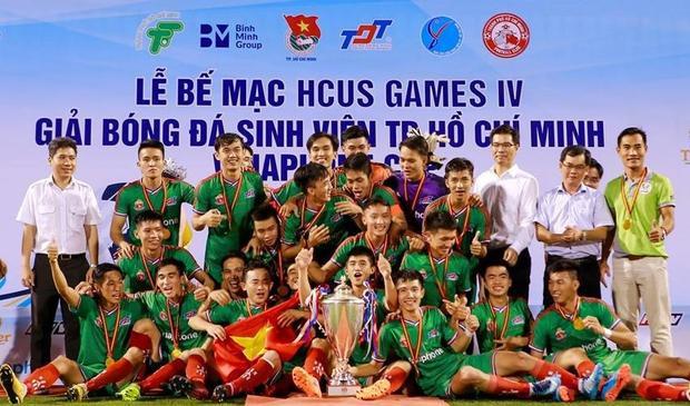 Đại học Tôn Đức Thắng giành chức vô địch.