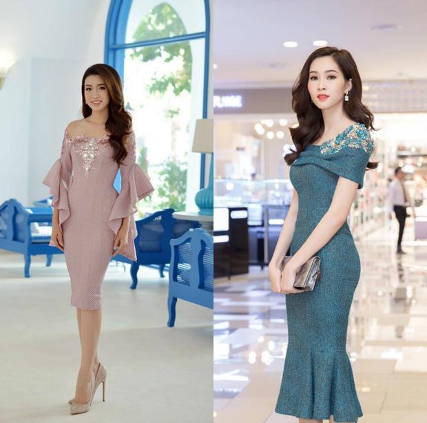 Phong cách thời trang thể hiện sự thanh lịch với những chiếc đầm tôn dáng nhưng không kém phần ấn tượng.
