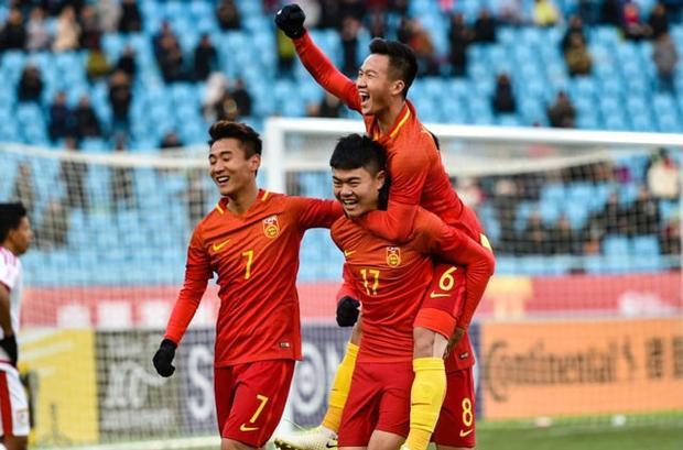 U23 Trung Quốc bị loại ngay từ vòng bảng.