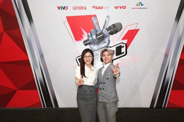 Vũ Cát Tường là giám khảo vòng audition 1 The Voice 2018 cùng Hương Tràm.