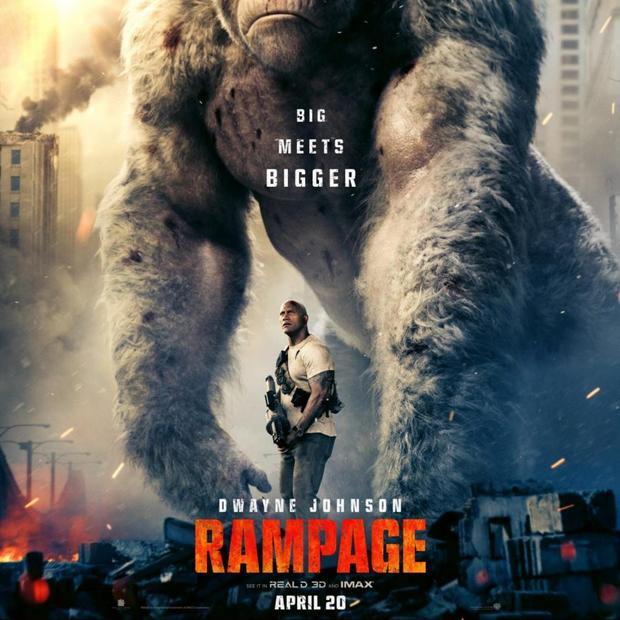 Rampage - King Kong Đi Bão.