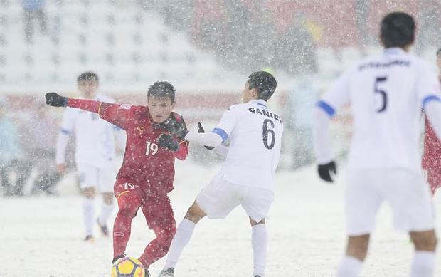 Các cầu thủ U23 Việt Nam đã chiến đấu hết mình trong hành trình chinh phục đỉnh cao bóng đá châu lục.