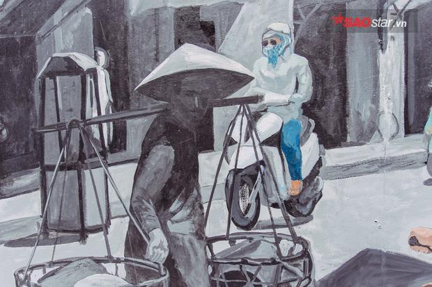 Phố bích họa Phùng Hưng khi hoàn thành sẽ là một không gian công cộng kết nối với phố đi bộ Bờ Hồ, khu phố đi bộ Đào Duy Từ…