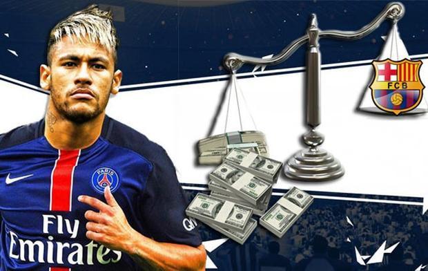 Neymar đang cho thấy sự vô tình của mình.