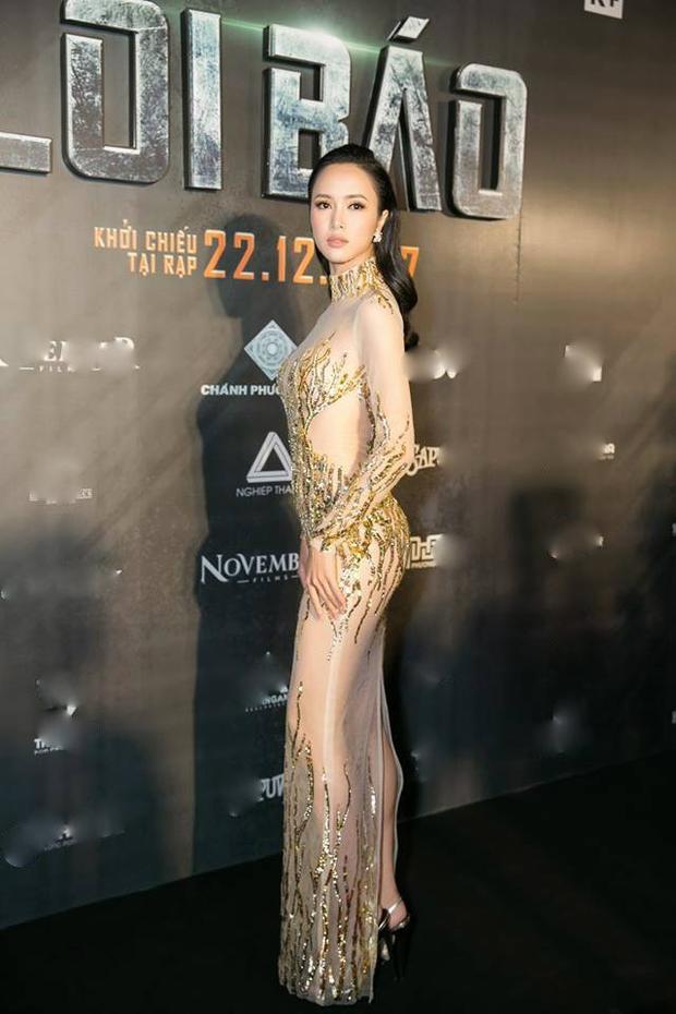 """Nữ diễn viên Vũ Ngọc Anh trở thành tâm điểm tại một sự kiện của làng giải trí. Cô diện trang phục hở bạo khéo léo """"tiếp thị cơ thể"""" trước ống kính giới truyền thông."""