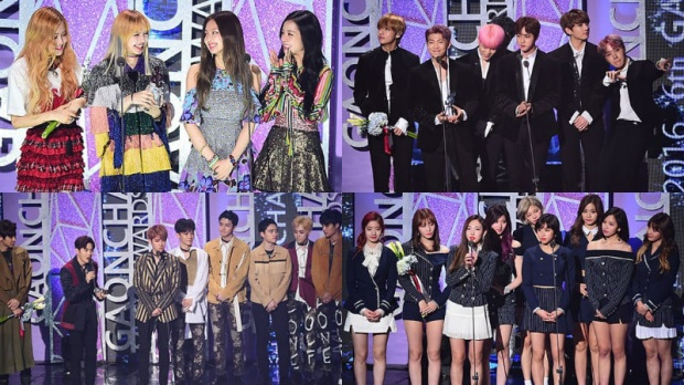 Gaon Chart Music Awards luôn là điểm đến của những ngôi sao lớn hàng đầu Kpop.