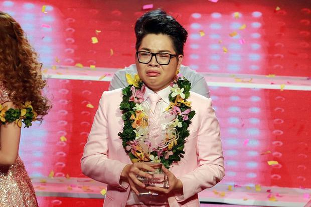 Nhan sắc của Đức Phúc khi đăng quang Giọng hát Việt mùa 3.