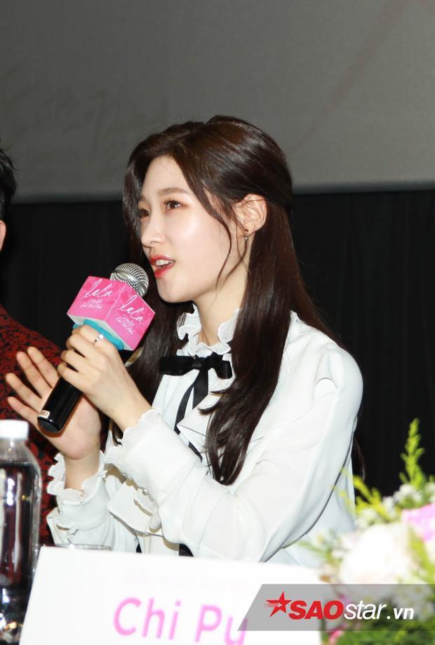 Chae Yeon tự tin trả lời câu nói của báo chí Việt Nam.