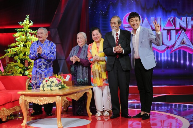 """Bộ ba khách mời """"Phước Lộc Thọ"""" tuần này: NS Mạc Can, NS Thiên Kim cùng NS/Nhà giáo Mạnh Dung."""