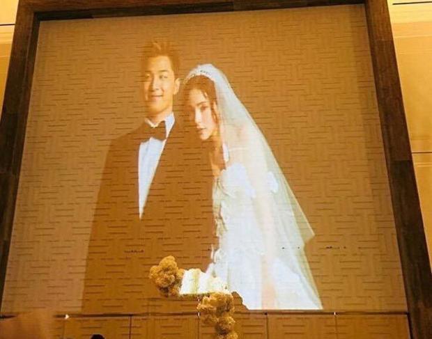 Ảnh cưới của cặp đôi Taeyang Min Hyo Rin đang được chia sẻ cùng những lời chúc phúc.