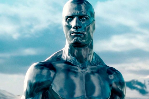 Silver Surfer trong Fantastic Four.