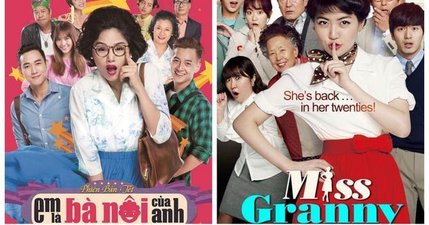 Remake lại Miss Grannyđình đám của Hàn, Em là bà nội của anhthành công ngoài sức tưởng tượng.