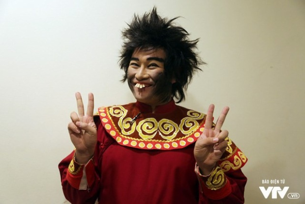 Tạo hình Thiên Lôi của ca sĩ Minh Quân luôn khiến khán giả thích thú.