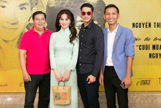 Hà Linh, Phi Ngọc Ánh, Huy Khánh, đạo diễn Huỳnh Tuấn Anh.
