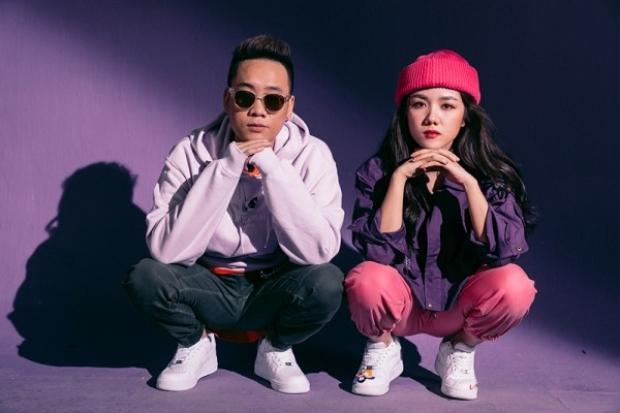 Không chỉ góp giọng với vai trò rapper chính, JustaTee cũng xuất hiện trong bộ hình quảng bá cho sản phẩm âm nhạc mới của Phương Ly.