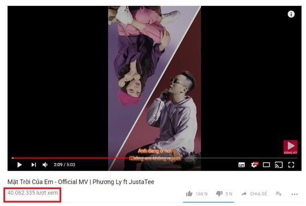 """Hiện MV đã đạt con số hơn 40 triệu lượt xem trên Youtube và nhận được nhiều phản hồi """"có cánh"""" từ khán giả."""