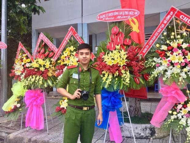 Hiện, Duy Toàn đang là sinh viên cảnh sát nhân dân năm cuối.