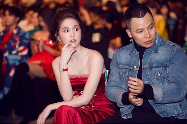 Trong sự kiện mới tham gia gần đây, Trinh cũng chọn gam màu đỏ rực rỡ để xuất hiện.