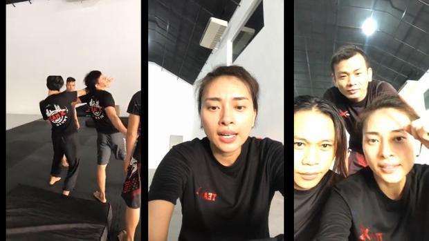 Livestream tập võ chuẩn bị cho phim mới, Ngô Thanh Vân gây bất ngờ vì quá nghịch ngợm