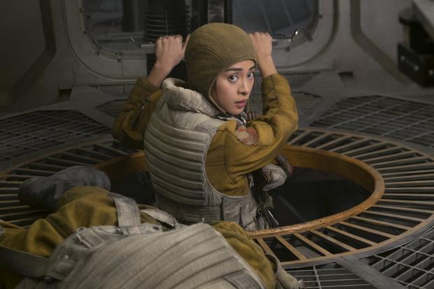 Ngô Thanh Vân trong Star Wars.