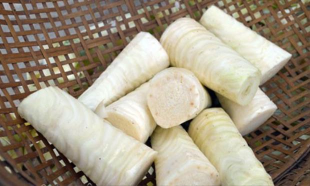 Củ hũ dừa có thể thành nhiều món ăn đặc sản đậm chất miền Tây.