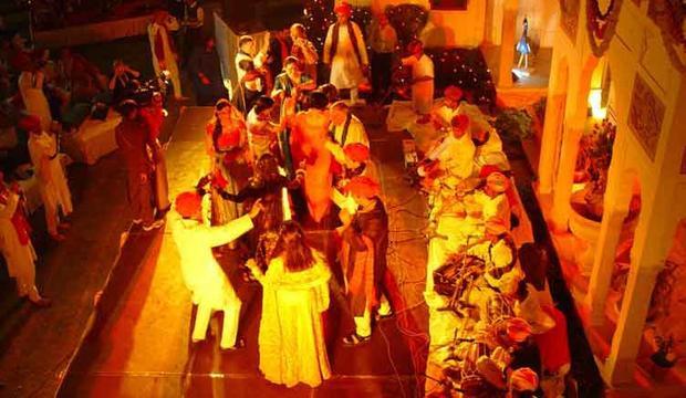 Một đám cưới ở Ấn Độ. Ảnh: Royalweddingindia.com